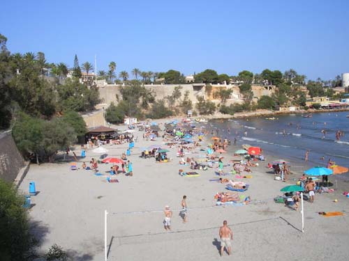 One of Cabo Roig's Beaches