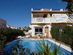 3 Bedroom Cabo Roig Villa With Pool for Rent